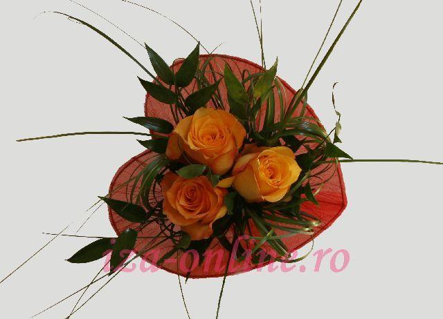 Clic pentru a vedea imaginea mărită Buchet din trandafiri