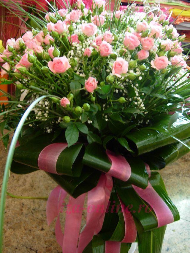 Clic pentru a vedea imaginea mărită Buchet mini trandafiri