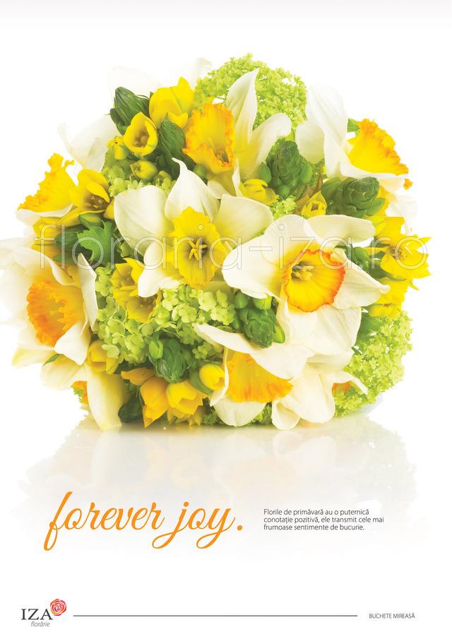 Clic pentru a vedea imaginea mărită Forever joy - Buchet de mireasa