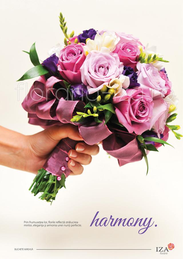 Clic pentru a vedea imaginea mărită Harmony - Buchet de mireasa