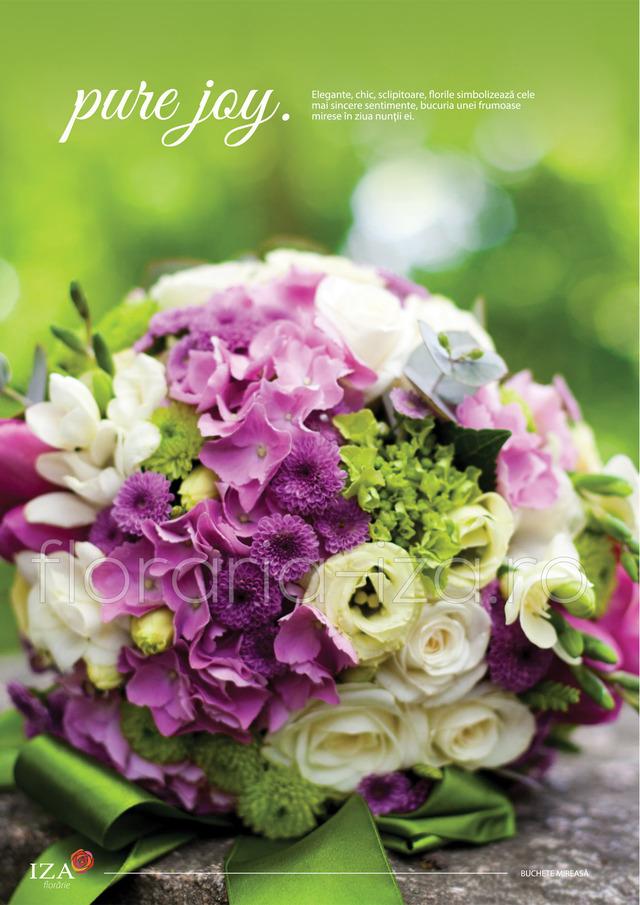 Clic pentru a vedea imaginea mărită Pure joy - Buchet de mireasa