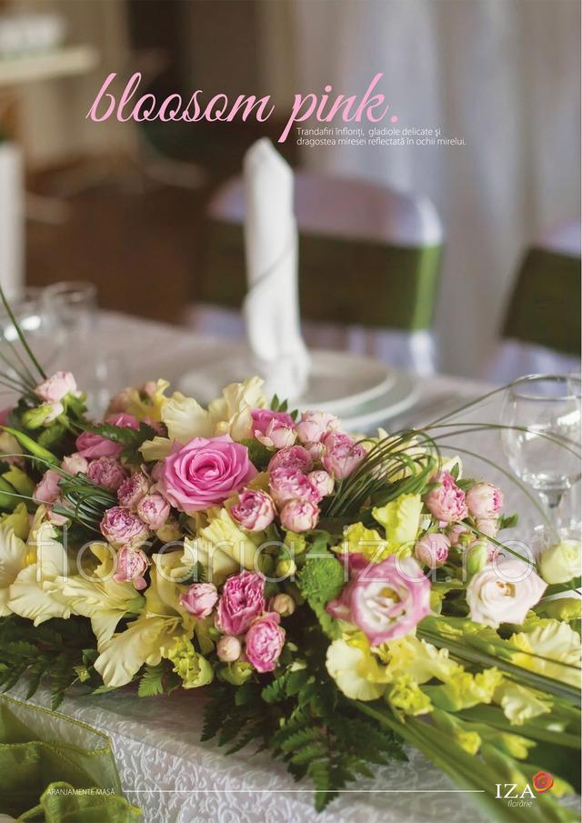 Clic pentru a vedea imaginea mărită Bloosom pink - Aranjament de masa