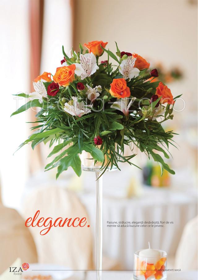 Clic pentru a vedea imaginea mărită Elegance - Aranjament de masa