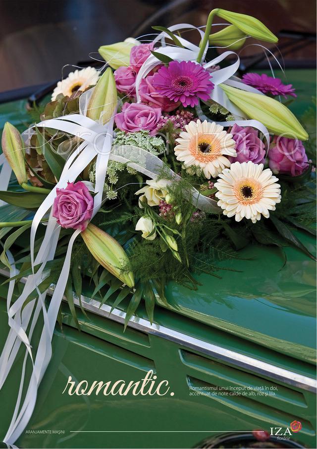 Clic pentru a vedea imaginea mărită Romantic - Aranjament pentru masina