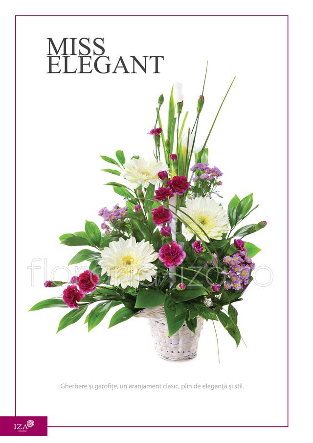Clic pentru a vedea imaginea mărită Aranjament asortat - Miss elegant