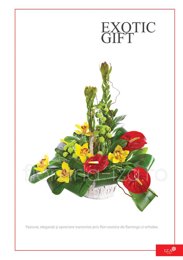 Clic pentru a vedea imaginea mărită Aranjament asortat - Exotic gift