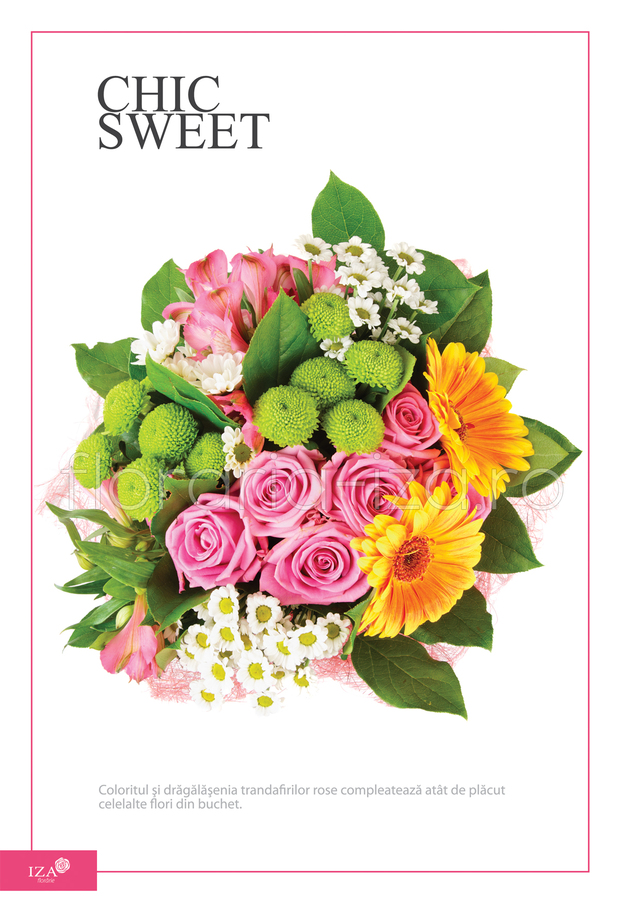 Clic pentru a vedea imaginea mărită Buchet asortat - Chic sweet