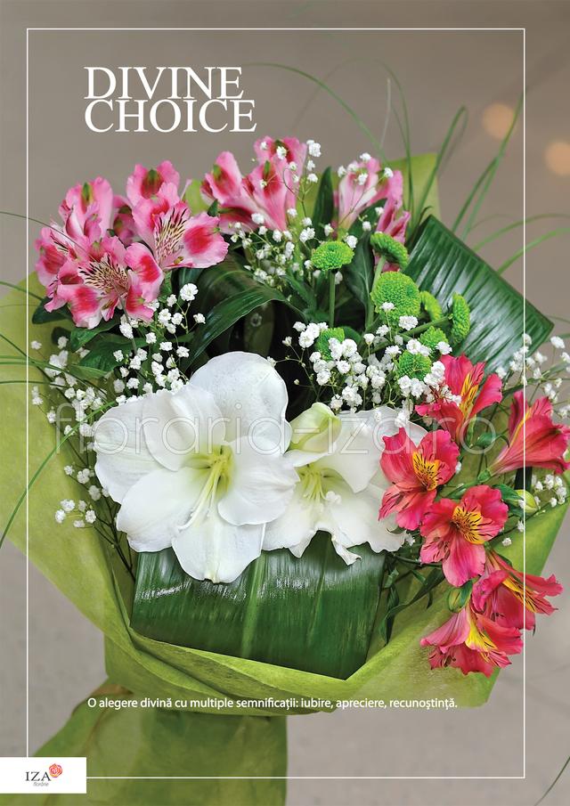Clic pentru a vedea imaginea mărită Buchet asortat - Divine Choice