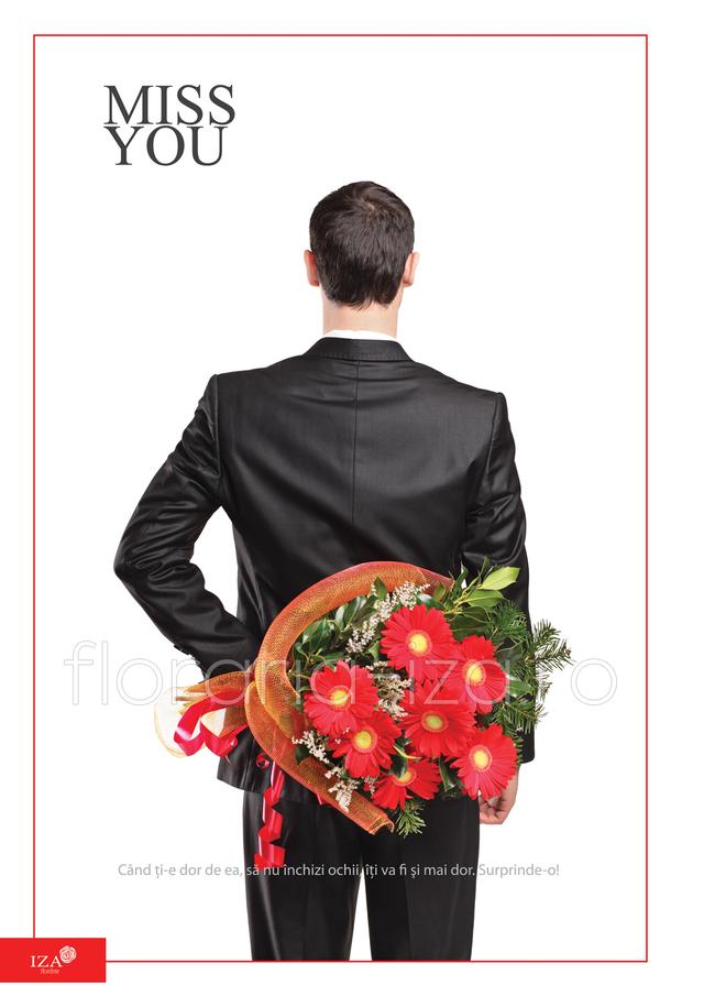 Clic pentru a vedea imaginea mărită Buchet de gerbera - Miss you