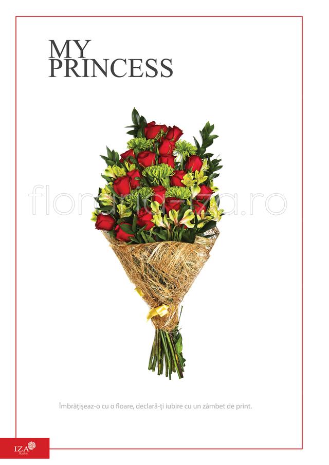 Clic pentru a vedea imaginea mărită Buchet asortat - My princess