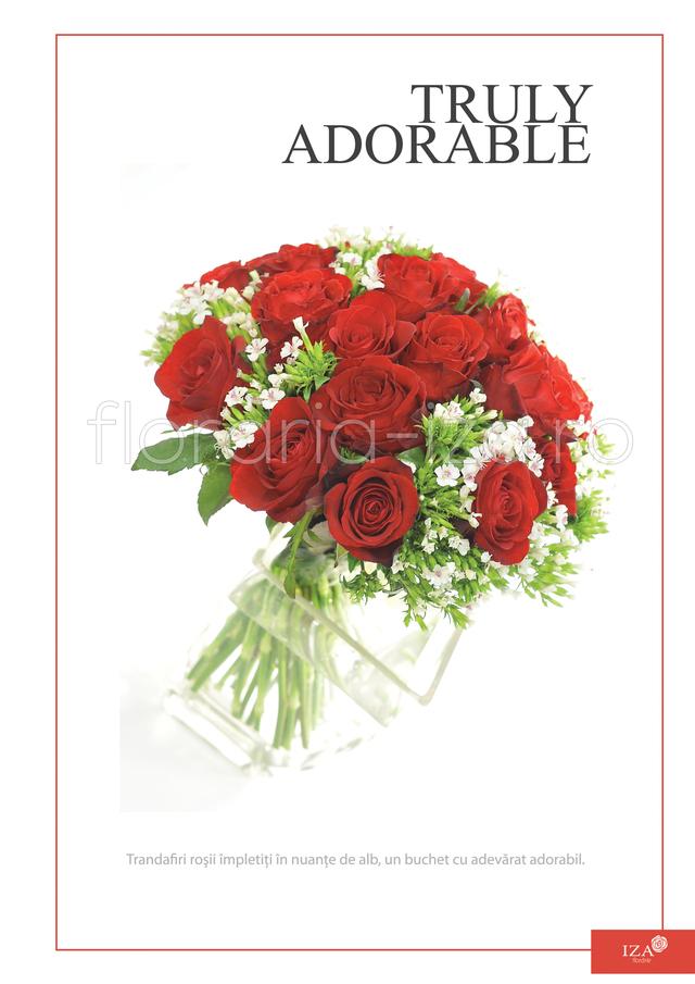 Clic pentru a vedea imaginea mărită Buchet trandafiri - Truly adorable