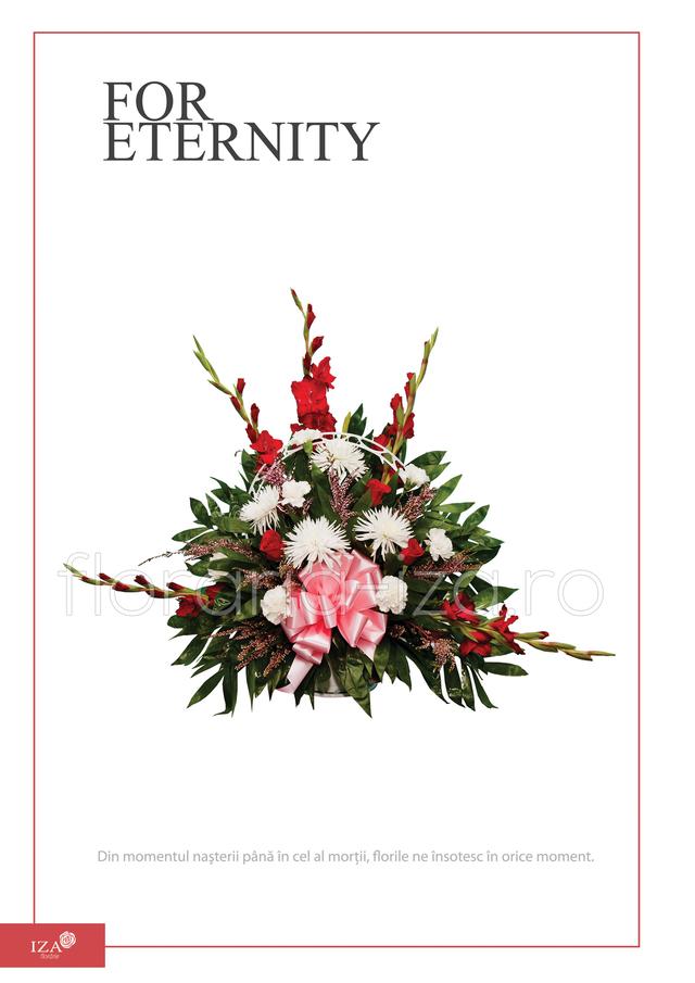 Clic pentru a vedea imaginea mărită Arajament funerar - For eternity
