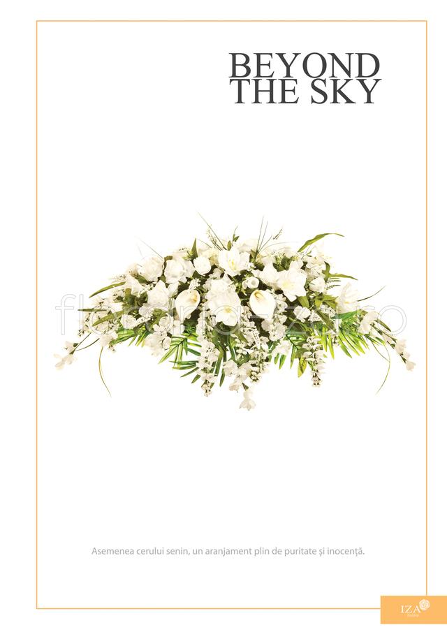 Clic pentru a vedea imaginea mărită Aranjament funerar - Beyond the sky