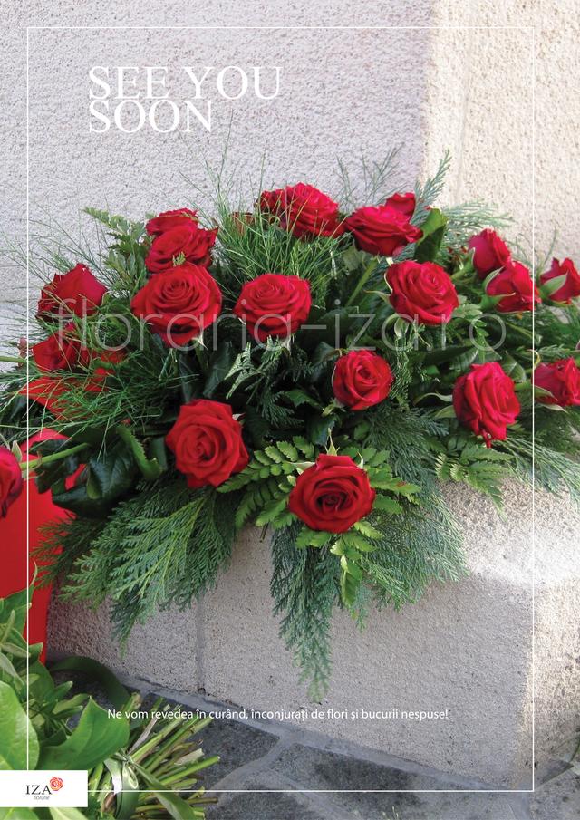 Clic pentru a vedea imaginea mărită Aranjament funerar - See you soon