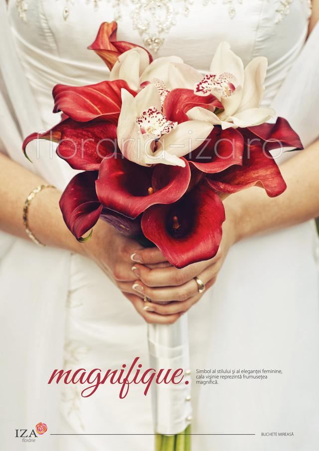 Clic pentru a vedea imaginea mărită Magnifique - Buchet de mireasa