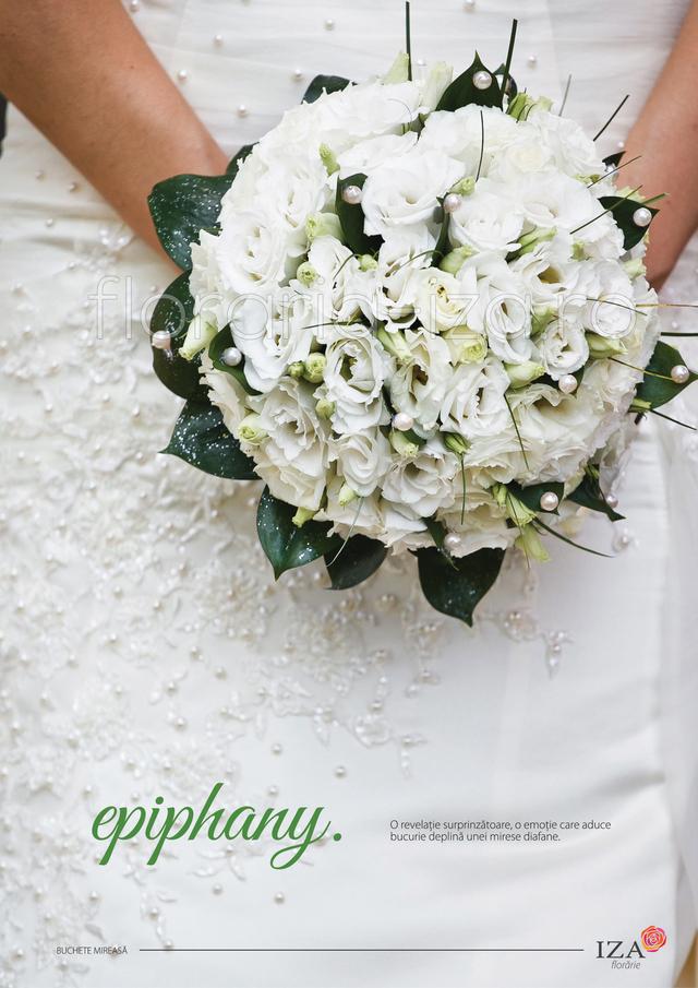 Clic pentru a vedea imaginea mărită Epiphany - Buchet de mireasa