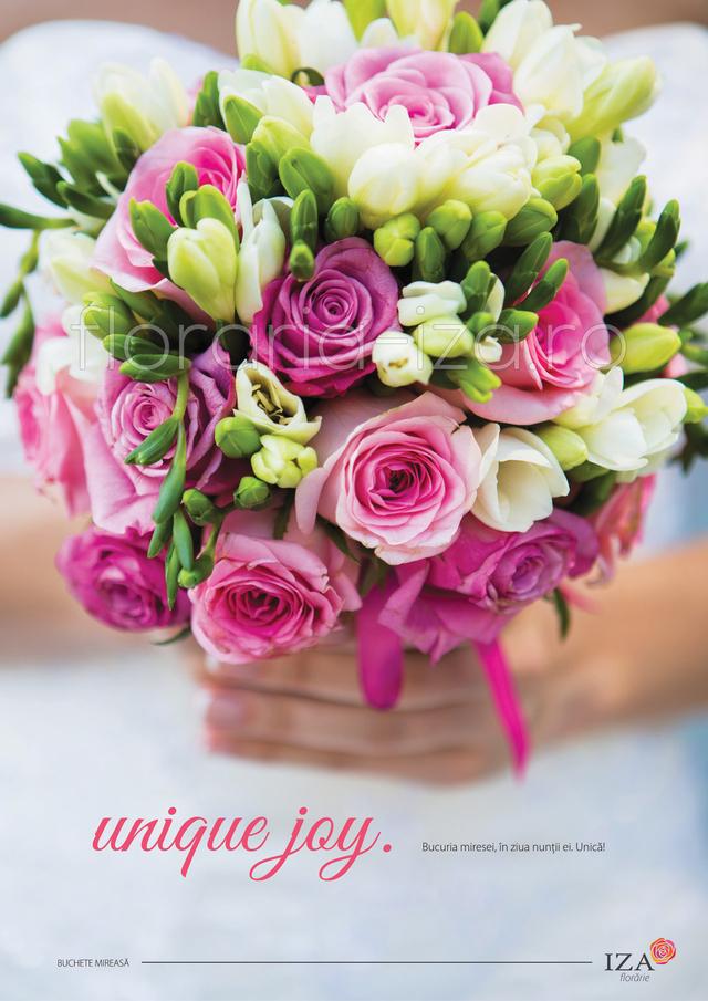 Clic pentru a vedea imaginea mărită Unique joy - Buchet de mireasa