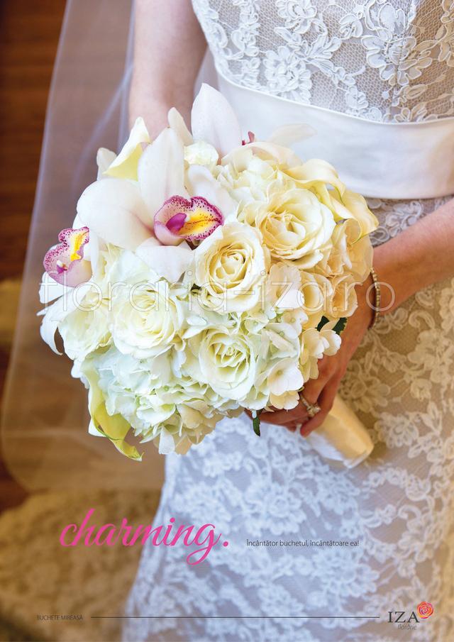 Clic pentru a vedea imaginea mărită Charming - Buchet de mireasa