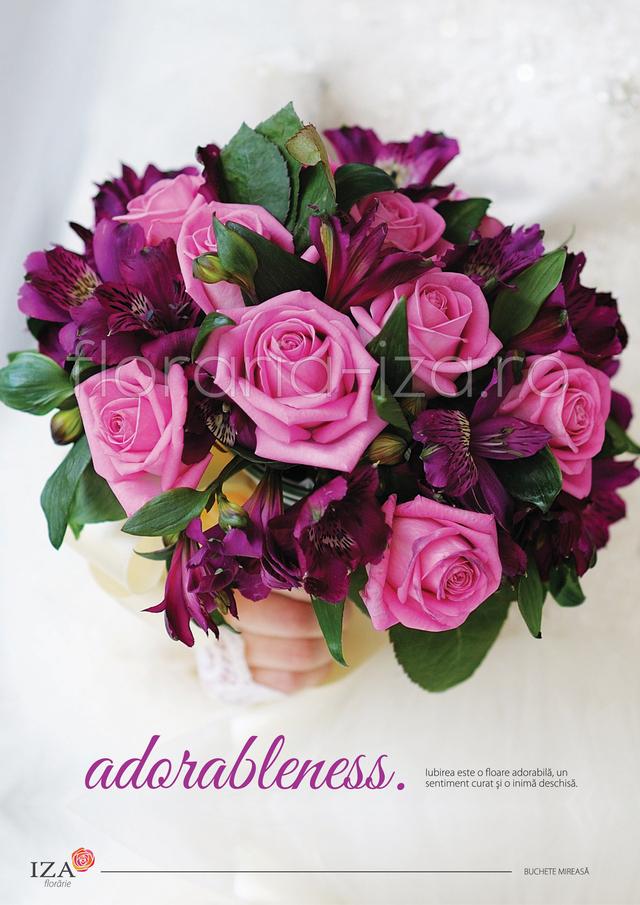 Clic pentru a vedea imaginea mărită Adorableness - Buchet de mireasa