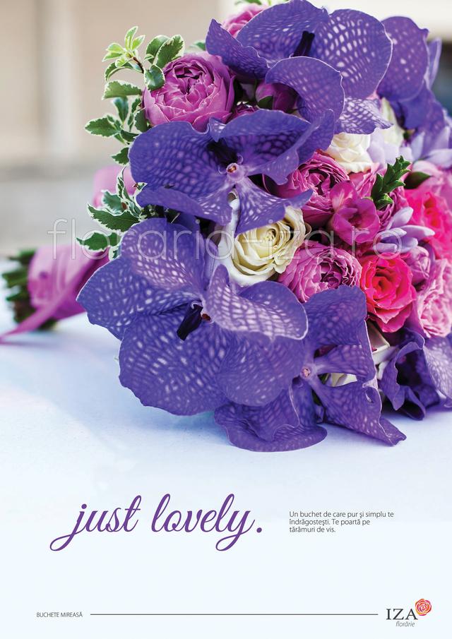 Clic pentru a vedea imaginea mărită Just lovely - Buchet de mireasa