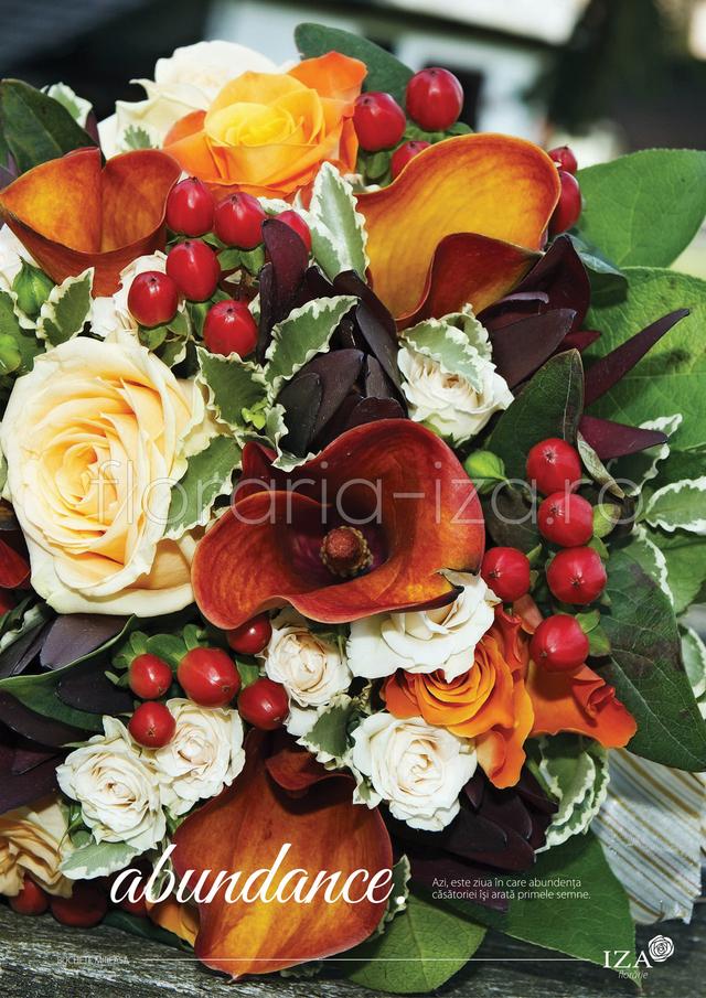 Clic pentru a vedea imaginea mărită Abundance - Buchet de mireasa