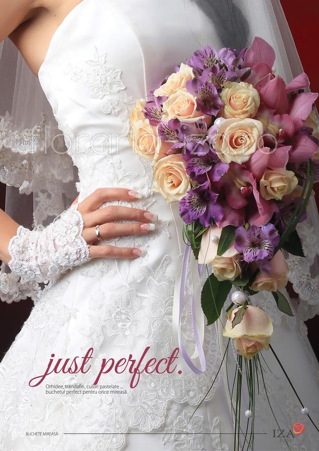 Clic pentru a vedea imaginea mărită Just perfect - Buchet de mireasa