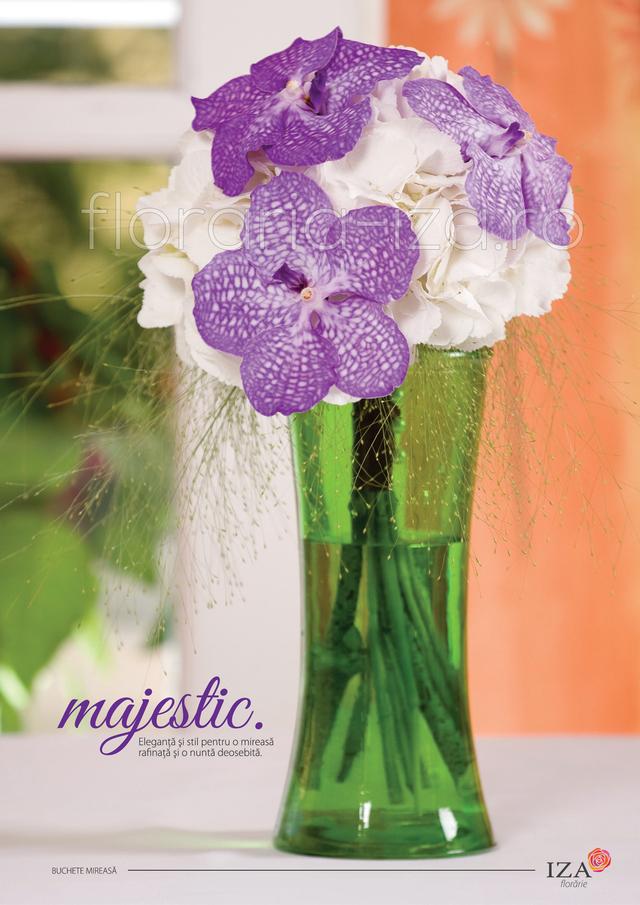 Clic pentru a vedea imaginea mărită Majestic - Buchet de mireasa
