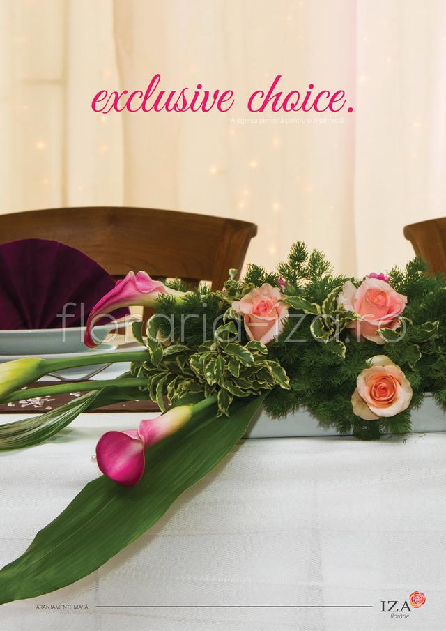 Clic pentru a vedea imaginea mărită Exclusive choice - Aranjament de masa